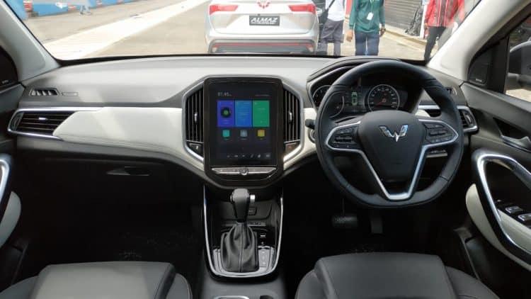 Ilustrasi Dashboard Mobil